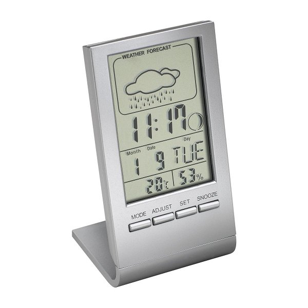 Alarm clock with thermometer REEVES-DRANFIELD